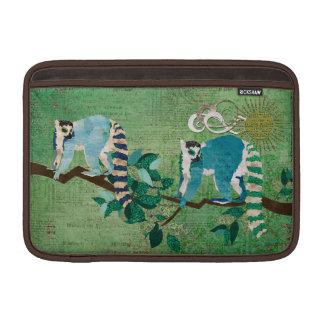 Lemurs Out on a Limb Jade  Sleeve MacBook Air Sleeve