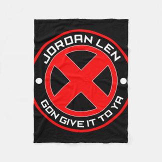 Len-X Gun' Give it To Ya Fleece Blanket