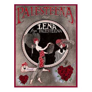 Lena from Palesteena postcard