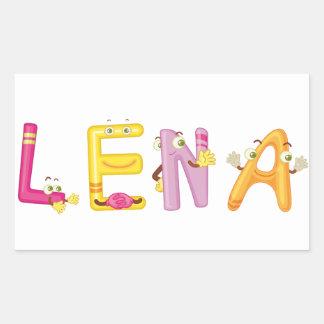 Lena Sticker