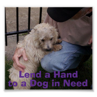 Lend a Hand -- Sinclair Poster