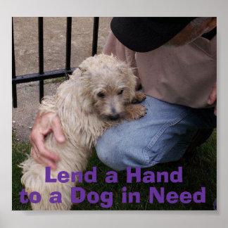 Lend a Hand -- Sinclair Poster