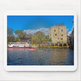 Lendal tower and bridge York Mouse Pads