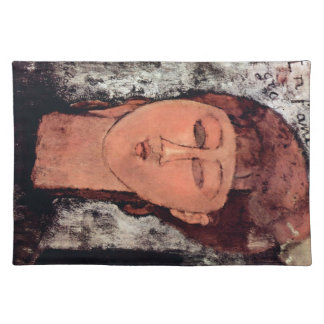L'Enfant Gras by Amedeo Modigliani Place Mats