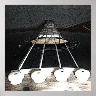 Lengthy Strings Poster