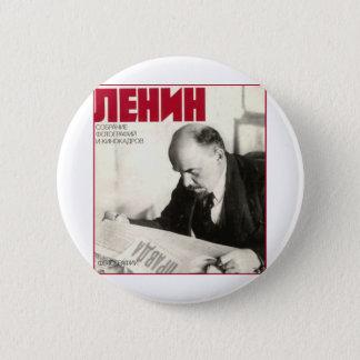 Lenin 6 Cm Round Badge