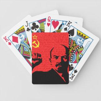 Lenin Bicycle Playing Cards