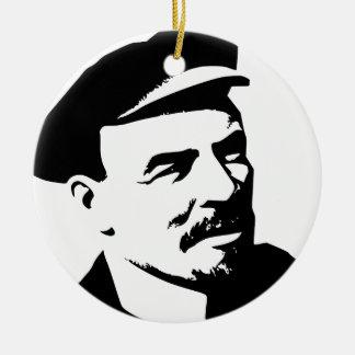 Lenin Ceramic Ornament