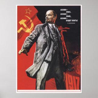 Lenin Forever Poster