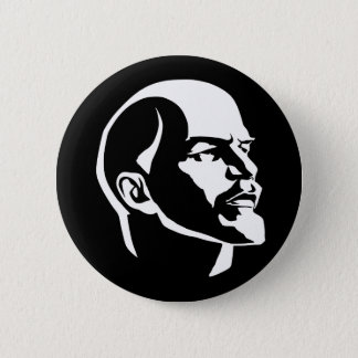 Lenin Head 6 Cm Round Badge