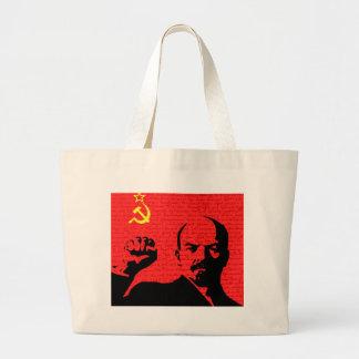 Lenin Large Tote Bag