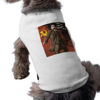 Lenin Lived Obama Lives Sleeveless Dog Shirt