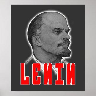 Lenin Profile Poster