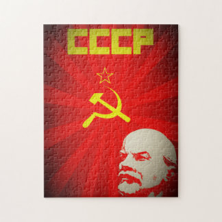 lenin russia soviet communist propaganda vintage f puzzle