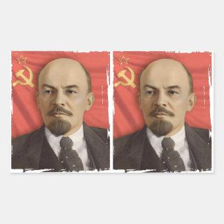 Lenin Stickers (Cut in 2)