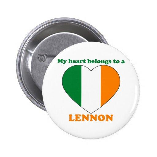 Lennon Button