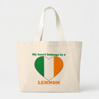 Lennon Tote Bags