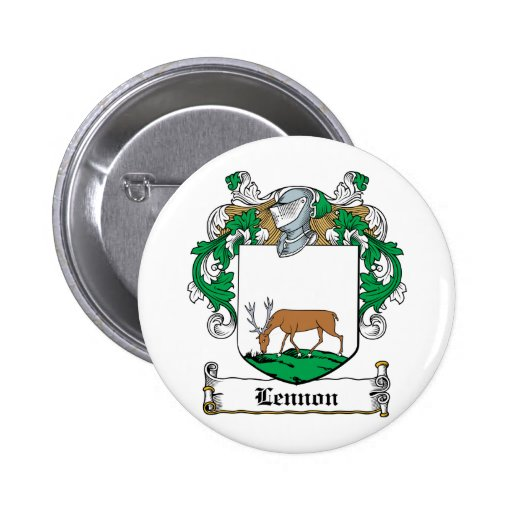 Lennon Family Crest Pinback Button