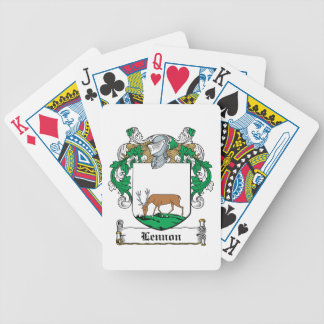 Lennon Family Crest Deck Of Cards