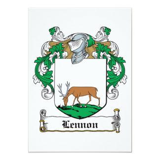 Lennon Family Crest Custom Invitations