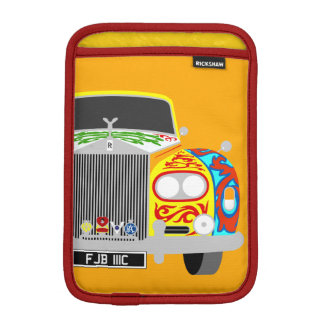 Lennon's classic psychedelic limousine car iPad mini sleeve