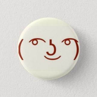 Lenny ( ͡° ͜ʖ ͡°) 3 cm round badge