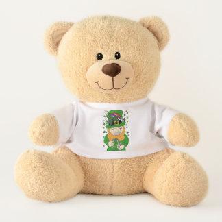 Lenny The Leprechaun Med. Teddy Bear
