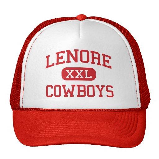 Lenore - Cowboys - Middle - Lenore West Virginia Mesh Hats