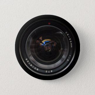 Lens 1 6 cm round badge