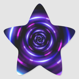 lens flare ring pattern star stickers