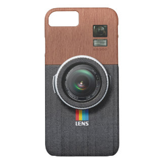 Lens GW300 - Wooden Gentleman Vintage Camera iPhone 7 Case