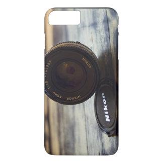 Lens of camera and cap iPhone 7 plus case