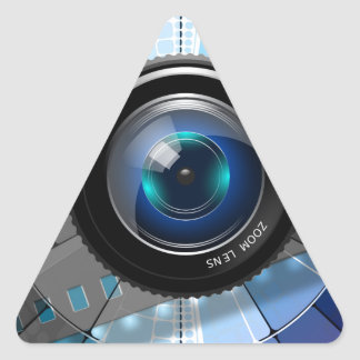Lens Triangle Sticker