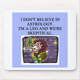 LEO astrology Mouse Pad