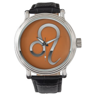 Leo Astrology Zodiac Sun Sign Men's Watch