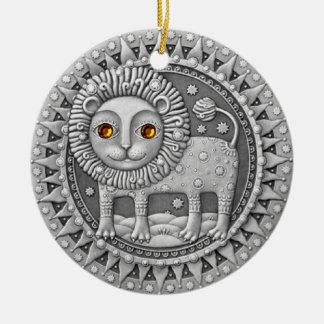 Leo Coin ornament