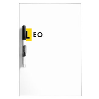LEO COLOR DRY ERASE BOARD