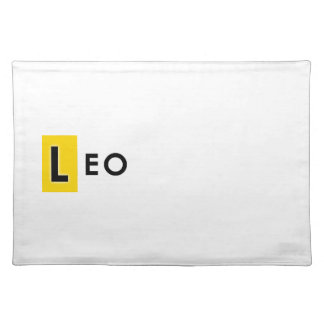 LEO COLOR PLACEMAT