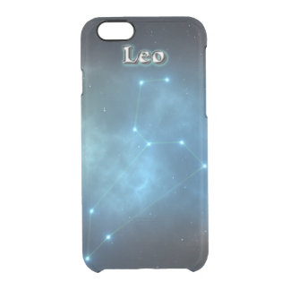 Leo constellation clear iPhone 6/6S case