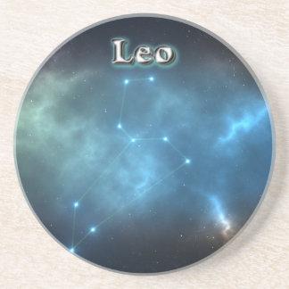 Leo constellation coaster
