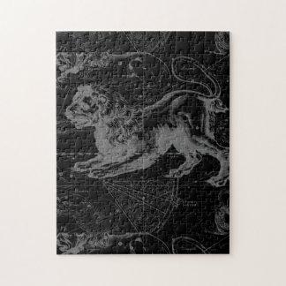 Leo Constellation Hevelius 1690 July23 - August 22 Jigsaw Puzzle