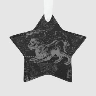 Leo Constellation Hevelius 1690 July23 - August 22 Ornament
