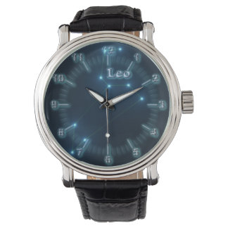 Leo constellation watch