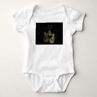 Leo golden sign baby bodysuit