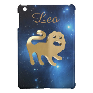 Leo golden sign iPad mini covers
