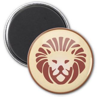 Leo Horoscope Sign the Lion Symbol Magnet
