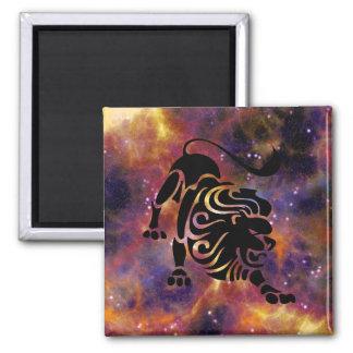 Leo Horoscope Zodiac Sign Magnet