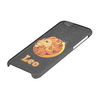 Leo illustration clear iPhone 6/6S case