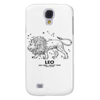 Leo (July 23 - August 22) Constellation Galaxy S4 Case