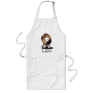 LEO Lion Westie Apron Long Apron